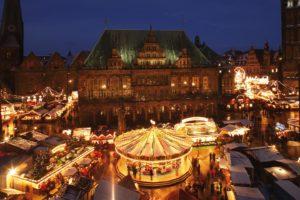 Bremen Weihnachtsmarkt.Bremen Weihnachtsmarkt Schlachte Zauber Pülm Reisen